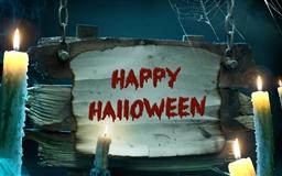 Happy Halloween Mac wallpaper