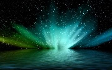Aurora Borealis 2 Mac wallpaper