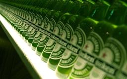 a line of beer Mac wallpaper