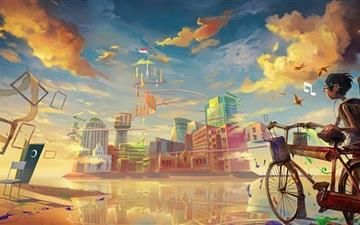 Magic City Mac wallpaper