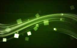 Green Wave Mac wallpaper