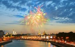 Moscow city Mac wallpaper