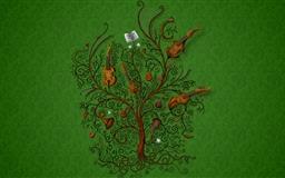 The tree of music Mac wallpaper