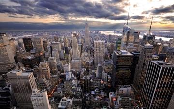 The city Mac wallpaper