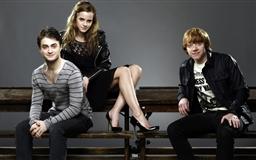 Daniel Radcliffe Emma Watson And Rupert Grint Mac wallpaper
