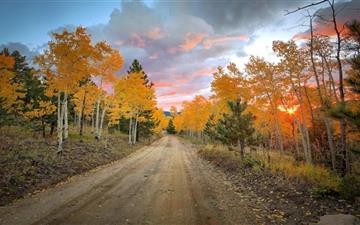 Autumn scenery Mac wallpaper