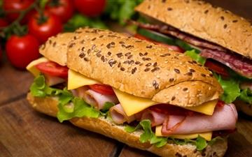 The delicious sandwiches Mac wallpaper