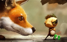 The fox and the tortoise