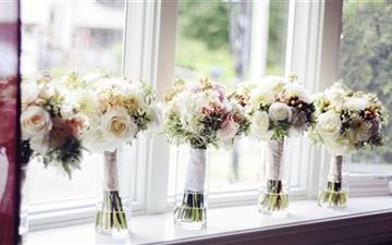 Wedding bouquet Mac wallpaper