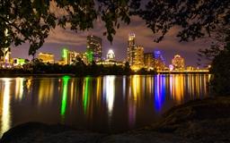 Austin's night Mac wallpaper