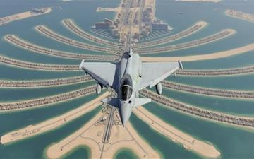 Eurofighter Typhoon Mac wallpaper