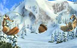 Ice Age Village Mac wallpaper