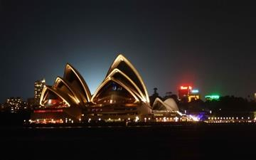 Sydney Opera House Mac wallpaper