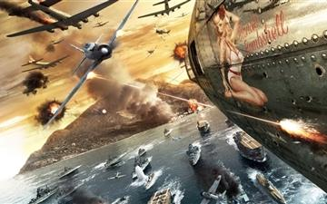 The war Mac wallpaper