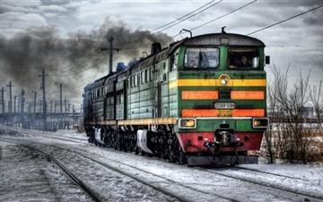 A train Mac wallpaper