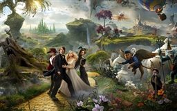 Oz The Great And Powerful 2013 Movie Mac wallpaper