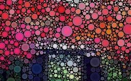 Circles Artwork Mac wallpaper