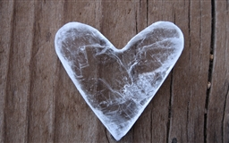 A heart Mac wallpaper