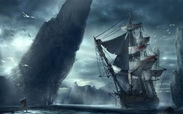 Ghost Ship Mac wallpaper