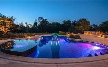 A swimming pool Mac wallpaper