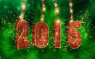 Happy new year Mac wallpaper