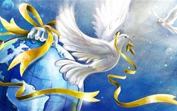 Dove of Peace Mac wallpaper