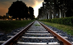 Railroad Track Mac wallpaper