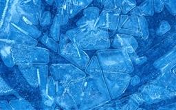 Ice crystals Mac wallpaper