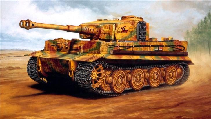 A tank Mac Wallpaper