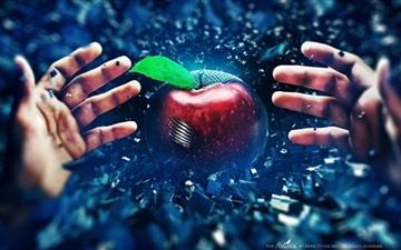 Apple Battle Mac wallpaper