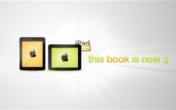 iPad book Mac wallpaper