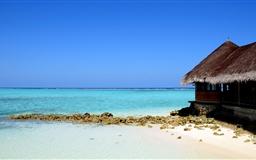 A lovely quiet beach