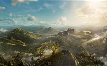 Spectacular landscape Mac wallpaper