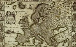 Map of Europe Mac wallpaper