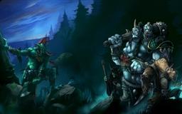 Monster fight Mac wallpaper