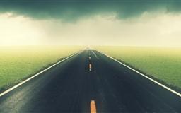 The road Mac wallpaper