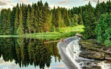 Nature Park Mac wallpaper