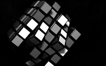 Rubik's cube Mac wallpaper