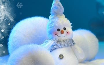 Happy Little Snowman Mac wallpaper