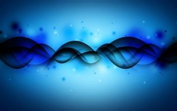 Blue Wave Mac wallpaper
