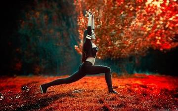 Sport Girls Art Irbis Production Mac wallpaper