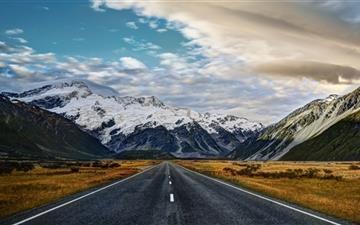 Road To Mount Cook Mac wallpaper