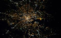Baltimore Maryland At Night