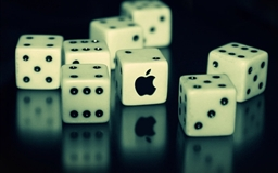 Dices And Apple Dices Mac wallpaper