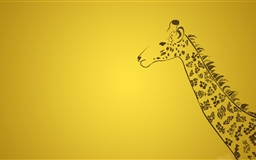 The Giraffe Mac wallpaper
