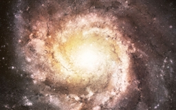 Spiral Galaxy Mac wallpaper