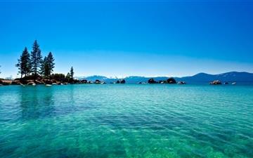 Lake Tahoe California Mac wallpaper