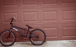 Bike On A Wall Mac wallpaper