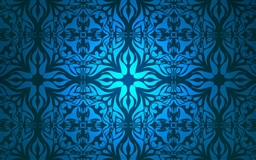 Vintage Blue Pattern Mac wallpaper