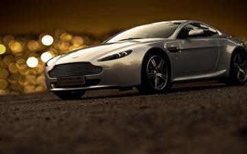 Aston Martin Bokeh Lights Mac wallpaper